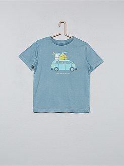 Tee shirt, polo - T-shirt imprimé 'Van' - Kiabi