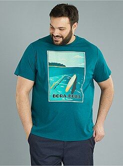 T-shirt - T-shirt jersey 'Bora Bora' - Kiabi