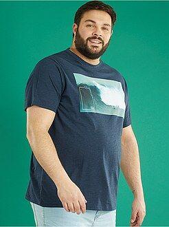 T-shirt - T-shirt jersey imprimé 'photo' - Kiabi