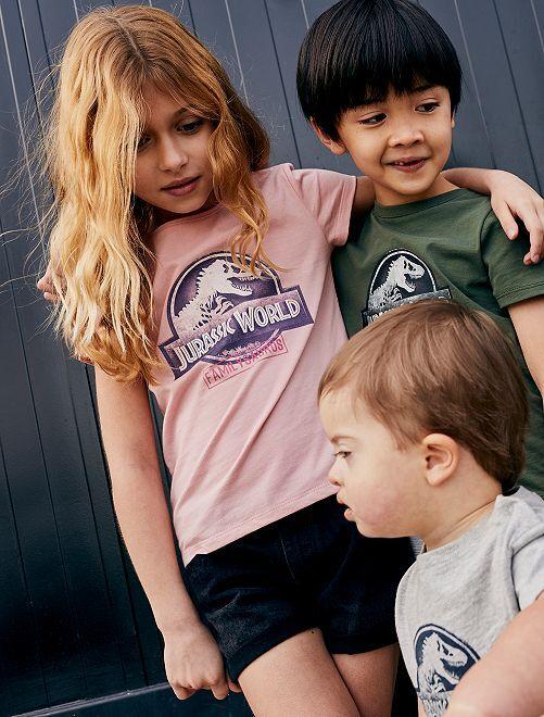 T-shirt 'Jurassic World'                                         rose