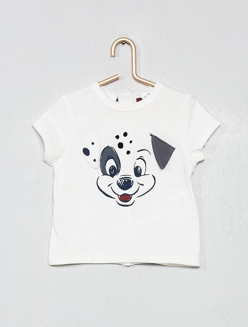 T-shirt 'Les 101 Dalmatiens'                             blanc Bébé garçon