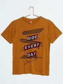 Garçon 10-18 ans T-shirt manches courtes imprimé