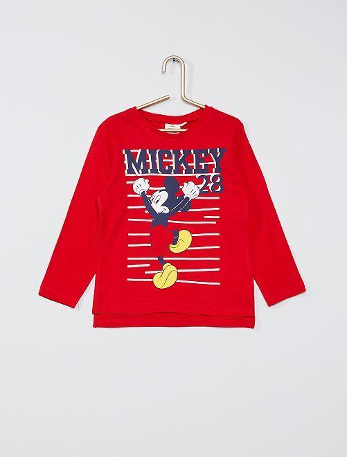 T-shirt 'Mickey' éco-conçu                                                     rouge