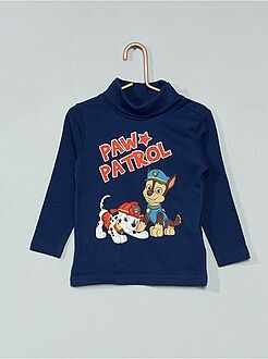 Tee shirt, polo bleu - T-shirt 'Pat' Patrouille'