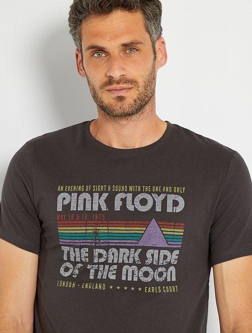 T-shirt 'Pink Floyd'                             gris foncé