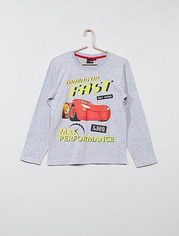 T-shirt pur coton 'Cars' - Kiabi