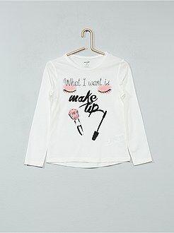 T-shirt pur coton imprimé