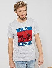 T-shirt regular imprimé 'Solex'