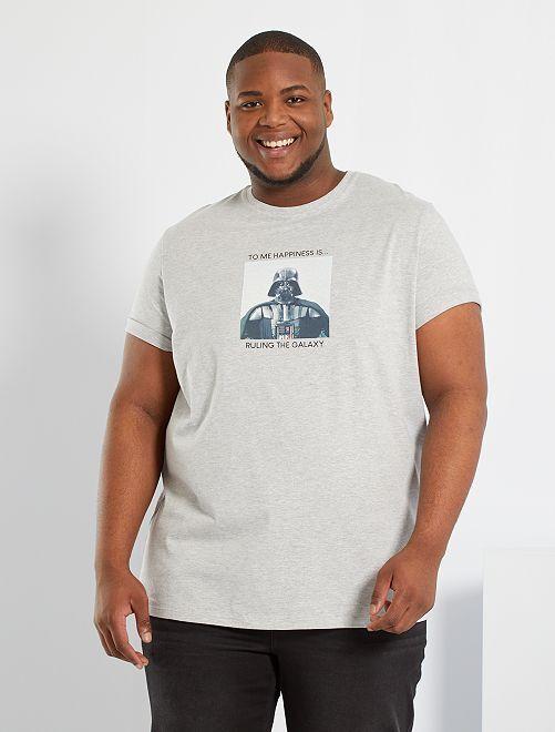 T-shirt 'Star Wars' éco-conçu                             gris clair chiné