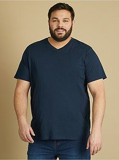 Tee-shirt comfort jersey uni - Kiabi
