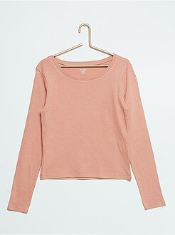 Fille 10-18 ans Tee-shirt coton stretch