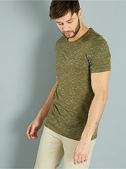 Homme du S au XXL Tee-shirt fitted injected