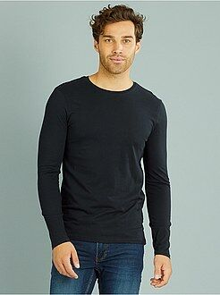 Tee-shirt fitted manches longues