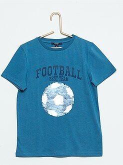 Tee shirt, polo - Tee-shirt imprimé à sequins réversibles