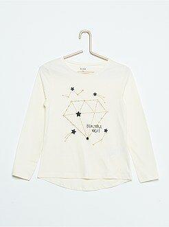 Tee shirt, débardeur - Tee-shirt imprimé 'constellations'