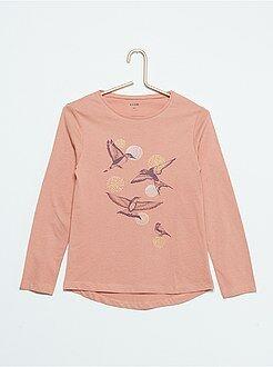 Tee-shirt imprimé 'oiseaux'