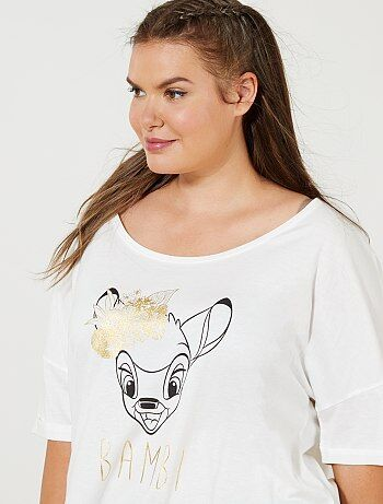Tee-shirt loose 'Bambi' - Kiabi