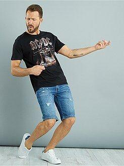 Homme du S au XXL Tee-shirt manches courtes 'AC/DC'