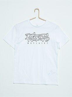 Garçon 10-18 ans Tee-shirt manches courtes imprimé