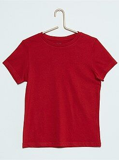 Tee shirt, polo - Tee-shirt uni pur coton