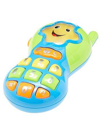 Garçon 0-36 mois - Téléphone d'éveil 9 mélodies - Kiabi