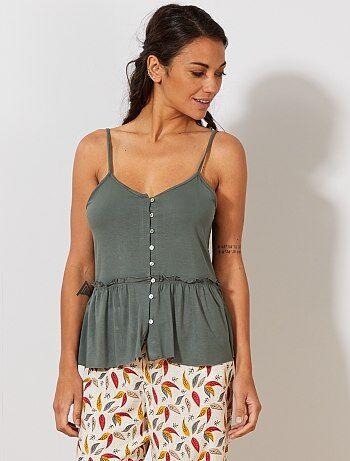 f863f07c9e803 Soldes pyjama femme, nuisette   lingerie du s au xxl   Kiabi
