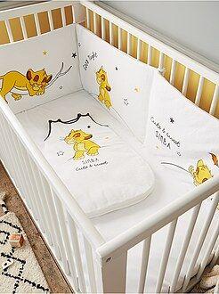 Chambre, bain - Tour de lit 'Roi Lion' de 'Disney' - Kiabi