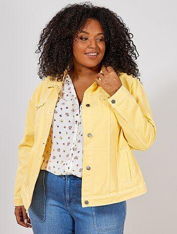 Veste jaune femme taille 36