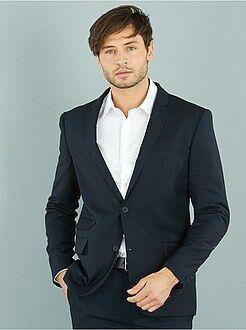 Manteau, veste - Veste de costume caviar coupe slim