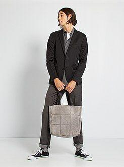 Costume - Veste de costume slim en twill - Kiabi