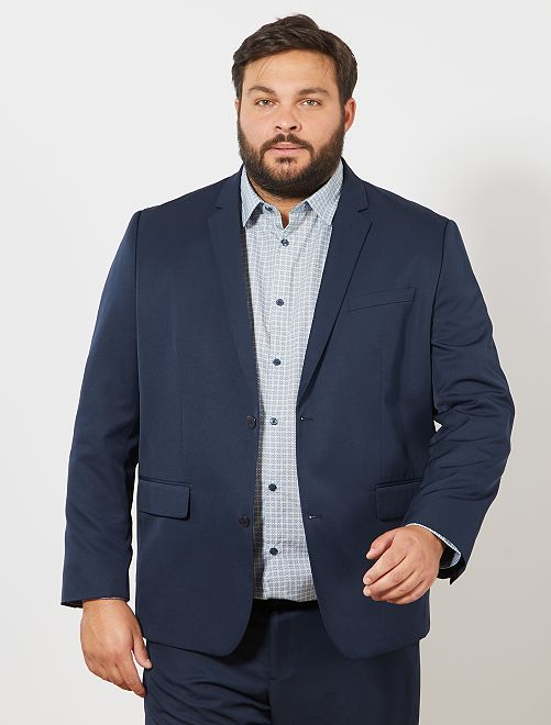 Veste costume grande taille homme pas cher
