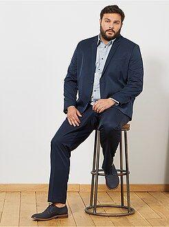 Manteau, veste - Veste de costume unie coupe droite