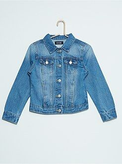 Veste en jean denim