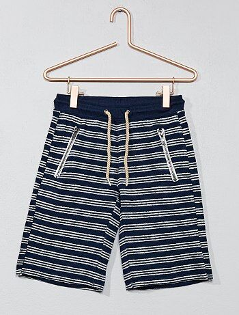 Garçon 3-12 ans - Bermuda à poches zippées - Kiabi