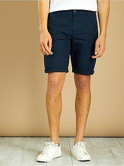 Bermuda, shorts - Bermuda en coton esprit battle - Kiabi