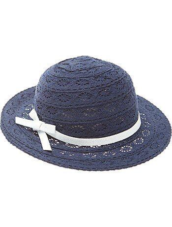 Chapeau en dentelle - Kiabi