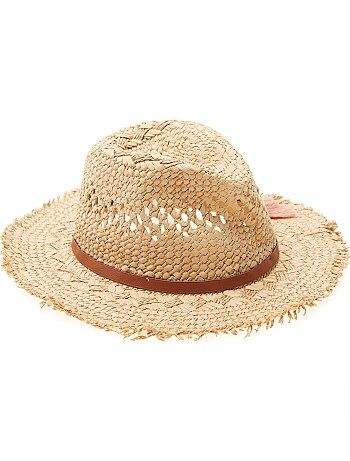Chapeau forme panama - Kiabi
