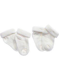 Chaussettes, collants taille 15/16 - Chaussettes par lot de 2 paires - Kiabi