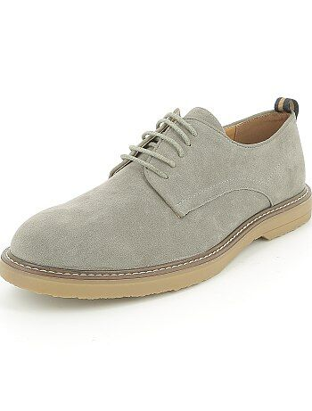Chaussures de ville en suédine - Kiabi