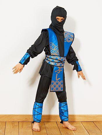Déguisement de ninja bleu - Kiabi