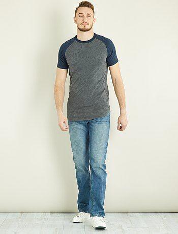Jean regular pur coton L36 +1m90 - Kiabi