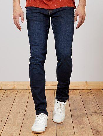 Jean slim en coton stretch L36 +1m90 - Kiabi