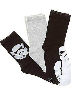 Lot 3 paires de chaussettes 'Star Wars' - Kiabi