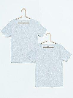 Tee shirt, polo taille 4/5a - Lot de 2 tee-shirt coton - Kiabi