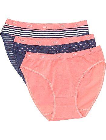 Lot de 3 culottes Les Pockets de 'DIM' - Kiabi