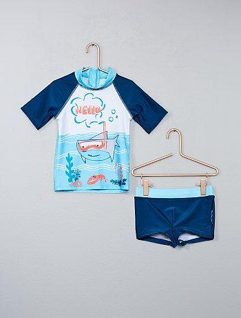 Maillot de bain anti UV 'Petit Beguin' - Kiabi