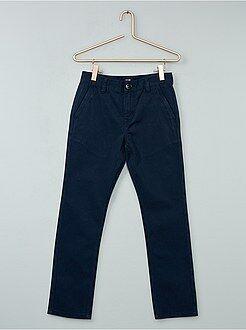 Pantalon - Pantalon chino en twill - Kiabi