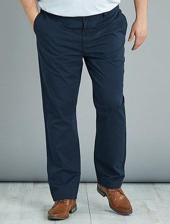Pantalon chino regular en twill - Kiabi