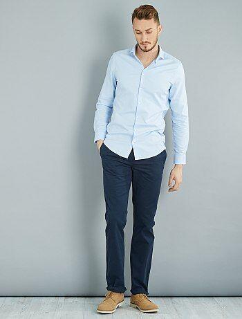 Pantalon chino regular L36 +1m90 - Kiabi