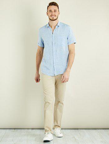 Pantalon chino regular L38 +1m90 - Kiabi